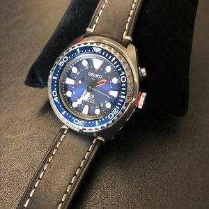 Fs Seiko Sun065 Special Edition Padi Kinetic Gmt Diver Watch 360
