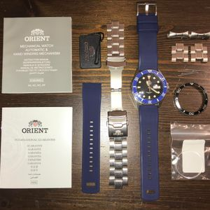 Wts Orient Ray Ii With Sapphire Coin Edge Bezel Ceramic And