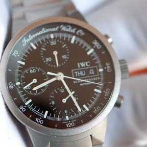 online store 1c800 a1c84 IWC GST Titanium Chronograph IW370703 just from full IWC ...