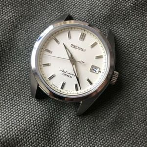Seiko Mechanical Sarb035 Wrist Watch For Men Silver Ivory 6r15