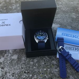 SOLD: Seiko Turtle SRP773 with Sapphire and lollipop second