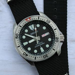 Seiko Skx Mod With Srp777 Dial, Nh36, Marinemaster Hands And
