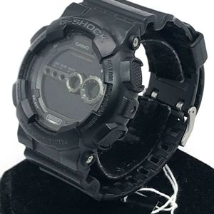 new product eaa2f 3e195 Casio 3263 Mens GD100 G-Shock Sport All Black Resin Band ...
