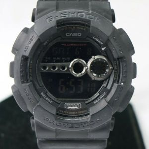 6197b1dcd Casio G-SHOCK Analog-Digital GD100-1B Men's Watch $89