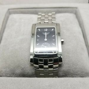Longines Mens Stainless Steel Watch Box And Papers Tourneau