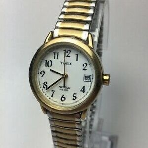 Women's Timex Expansion Reader Watch Tone Silver Band Ss Easy hdQxsCtr