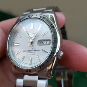 online retailer 97a65 03e42 SEIKO 5 SNKD97 SNKD97K1 21 Jewels Automatic 50m WR ...Pre ...