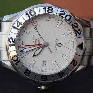 SOLD Omega Seamaster Pro RARE Great White SMP 300M GMT Sword Hands